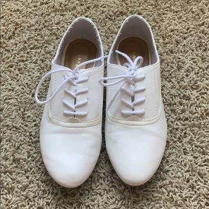 White Oxfords